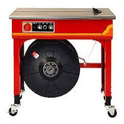 Félautomata asztali pántológép Transpak 502