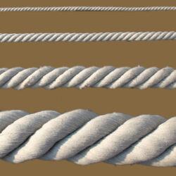 PPTEX kötél sodrott  60mm