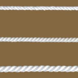 Cordel kötél sodrott fehér 16mm