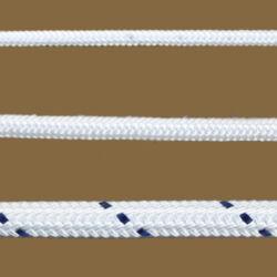 Fonatolt kötél polyészter fehér  4mm