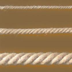 Juta kötél sodrott  22mm