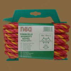 Polipropilén kötél sodrott színes 10 mm