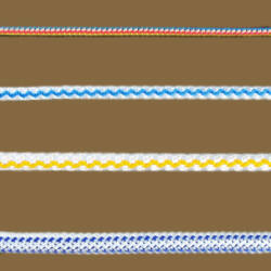 Tűfonatolt / kötött kötél  5mm