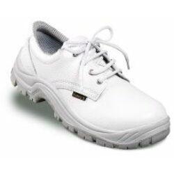 Munkavédelmi cipő, King's fehér (S2) 38-as