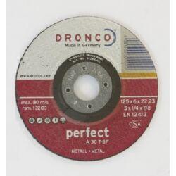 Dronco tisztító korong 115*4*22, fém perfect