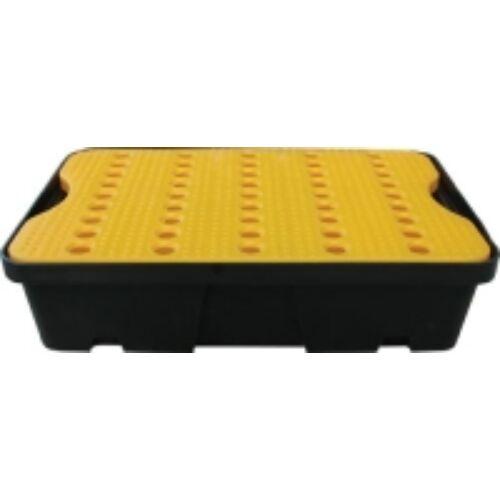Jonesco kármentő tálca sárga ráccsal 20 l, rakatolható
