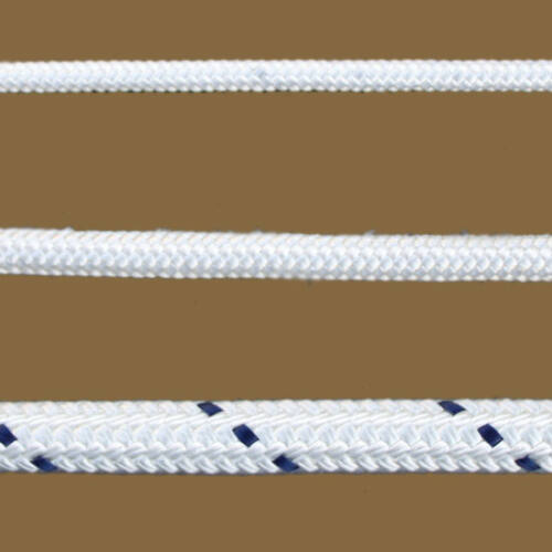 Fonatolt kötél polyészter fehér 22mm